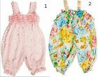 NEW Bonnie Baby Girl Pink Dot/Floral Party Pant Chiffon Romper-24M