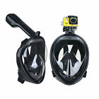 Swimming Mask Full Face Surface Diving More Color Snorkel Scuba For GoPro S-XL