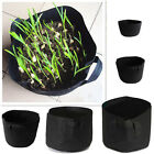 Indoor Plant Seedling Growth Bag Fabric Pot Round Gardening Soil Container Pouch