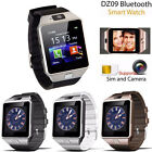 2016 Universal DZ-09 HD Bluetooth Wrist Watch Card for IOS Hot LG HTC SONY ZTE