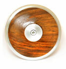 VIXEN Wood Xing  Discus in Brown, Throw Sporting Goods