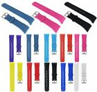 Soft Silicone Watch Band Wrist Strap Metal Buckle For Samsung Gear Fit 2 SM-R360