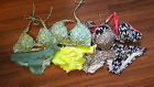 NEW VICTORIA'S SECRET HIGH TIE HALTER SET VARIOUS COLORS AND SIZES
