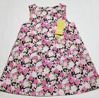NWT Gymboree Baby Girl Pink Tulip A-line Jumper DRESS Pink/Navy/White 12-18 New