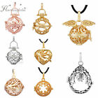 1pc Harmony Ball Cage Pendant Openable  Locket For Angel Balls 18mm 20mm Bola