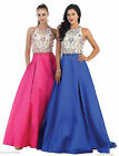 BEAUTY PAGEANT RED CARPET FORMAL GOWNS PROM EVENING DESIGNER DRESSES W / POCKETS