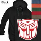 MEN'S PULLOVER HOODIE TRANSFORMERS AUTOBOT #201-Size S to 4XL PLUS