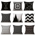 Black & White Super Soft Cushion Cover Home Decor Throw Pillow Case Sweet Lovely