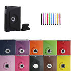 360 Rotating Leather Stand Smart Case Cover for Apple iPad Air