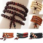 Fashion Men/Women Infinity Multilayer Beaded Charm Bracelet Handmade Jewelry X1