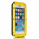 Waterproof Dustproof Shockproof Case Cover with Tempered Glass for iPhone6 / 6s