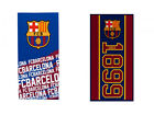 Official FC Barcelona  Towels  Large Bath Shower Beach   FREE (UK) P+P