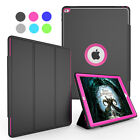 Shockproof Defender Rubber Stand Folio Case Smart Cover For iPad Mini 1 2 3 4