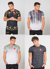 Mens Level 1 Brand Short Sleeve T Shirt Designer Poly Dropped Rear Hem Tee Top