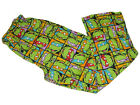 "NEW MUTANT NINJA TURTLES COTTON PAJAMA LOUNGE PJ SLEEP PANTS MENS M (32""-34"")"