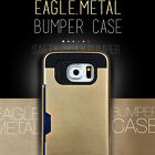 Eagle Metal Bumper Anti-shock Smartphone Case for iPhone and Galaxy