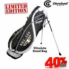 CLEVELAND ULTRALITE STAND BAG CG 588 LIGHTWEIGHT ONLY 1.72 KG ! NEW 2016 BLACK