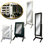 Jewellery Cabinet Stand Armoire Bedroom Mirror Dressing Table Counter Organiser