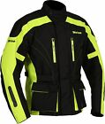 Weise Mens Hornet II Black Neon Yellow Textile Motorcycle Jacket New RRP £189.99