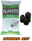 100,50,25,10 & 5 LITRE PERLITE GRADE HYDROPONICS GROW MEDIUM POT SOIL PLANT!T