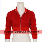 Women's Pokemon Go Costume Trainer Red Hoodie Team Valor Instinct Mystic Game