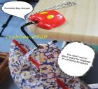 Disney Mickey mouse hand/pants portable table baggage HANGER with key chain F/S