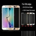 For Samsung Galaxy S6 Edge + Full Curved Premium Tempered Glass Screen Protector