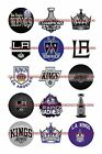 "LOS ANGELES KINGS 1"" CIRCLES  BOTTLE CAP IMAGES. $2.45-$5.50 ***FREE SHIPPING*** $5.5 USD on eBay"