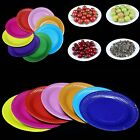 green paper plates - 10PCS Round Paper Plates 7