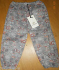 No added sugar baby girl summer trousers pants 12-18 m BNWT designer