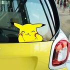 how to make window stickers - Pokemon Pikachu Make Face Smile Climb Window Hit Glass Wall Decals Car Stickers