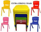 Strong Kids Plastic Table And Chairs Set Nursery Indoor Outdoor Garden Chairs