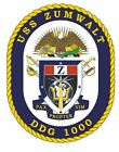 Home Decor Contemporary USS Zumwalt Sticker Military Armed Forces Decal M168