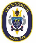 1970 Home Decor USS Wyoming Sticker Military Armed Forces Navy Decal M222 Cute Home Decor