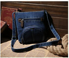 Bag women messenger bags fashion small ladies dark blue Solid denim handbag