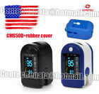 """CONTEC CMS50D SPO2 monitor,with free blue rubber cover,0.96"""" Dual-color OLED"""