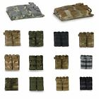 Tactical Military Double Open Top Molle 5.56mm Magazine Mag Pouch Bag For M4/M16