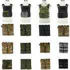 Tactical Military Double Open Top Molle 5.56mm Magazine Mag Pouch Cartridge Bag