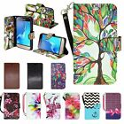 flip pop - Alcatel Fierce 4 / Pop 4 Plus Hybrid Leather Wallet Pouch Case Flip Case Cover