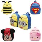 Cute cartoon kids plush backpack toys mini school bag Children's gifts baby boy