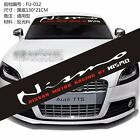 With OR Without Background Front Back Windshield Decals Car stickers For Nismo