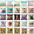 Vintage Colorful Home Decorative Throw Pillow Cover Car Cushion Cover Pillowcase