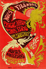 VINTAGE CONCERT POSTERS - A4 - A3 - Retro Prints - Doors, Hendrix, Pink Floyd <br/> BUY 2 GET 1 FREE ! - TOP QUALITY - FAST DELIVERY