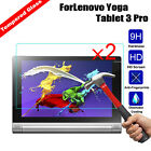 2Pcs New Real Premium Screen Protector Film Guard Tempered Glass For Lenovo Tab
