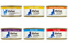 Pet Project Thrive Complete Cat Food 100% Real Meat Fish 12 x 75g Tin Wet Natura