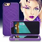 Mirror Wallet Case with Stand Card Holder For iPhone 6S/7 Plus/Samsung Galaxy S7