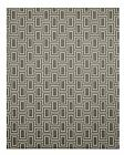 EORC OS600GY Machine-Made Nylon Grey Brandon Rug