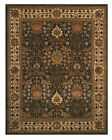 EORC OT31BN Brown Hand Tufted Wool Morris Rug