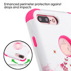 For Apple iPhone 8 7 Plus 7 TUFF Hybrid Impact Protector Case Skin Phone Cover <br/> Heavy Duty Shockproof Rubber Hard Protective Case | USA