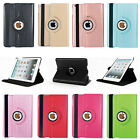 360 Rotating Luxury Bling Leather Case Smart Cover for Apple iPad Mini 1 2 3 4